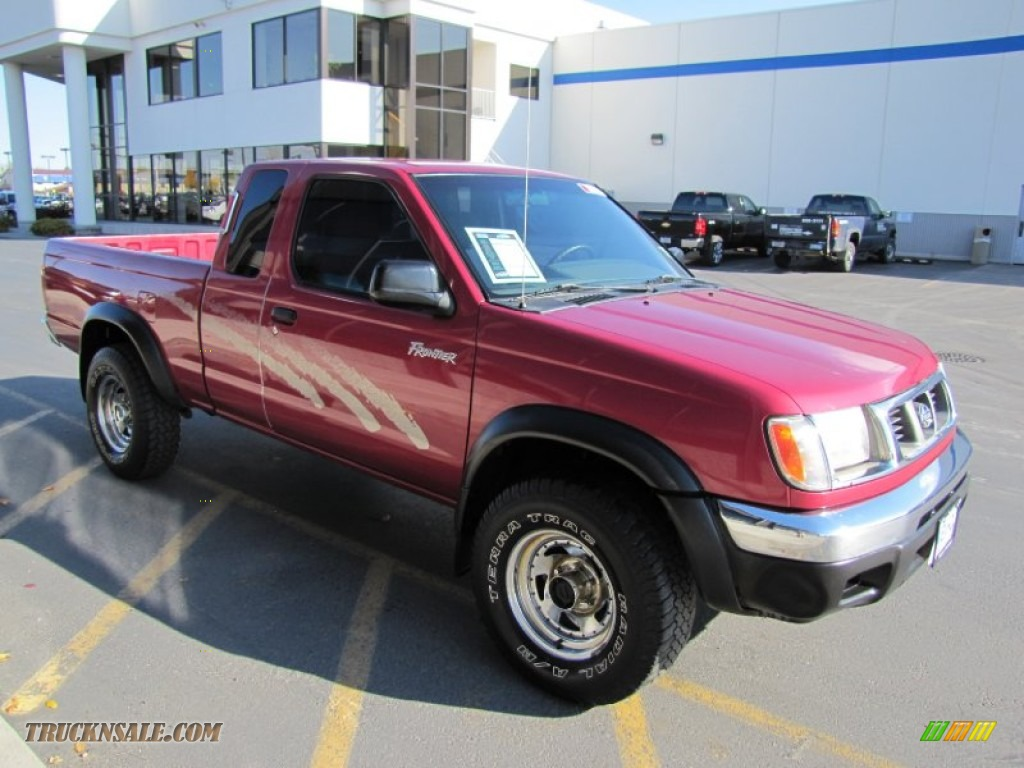 1998 nissan frontier xe extended cab 4x4 in strawberry red pearl photo 22 336329 truck n 39 sale. Black Bedroom Furniture Sets. Home Design Ideas