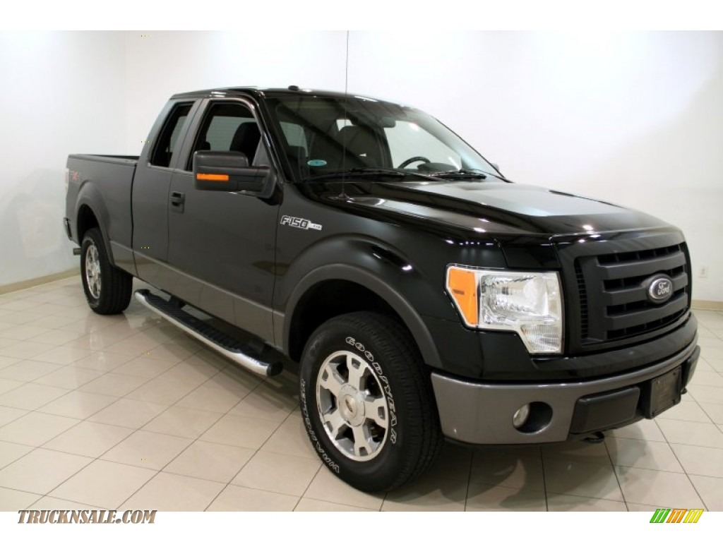 2009 ford f150 fx4 supercab 4x4 in black a08620 truck. Black Bedroom Furniture Sets. Home Design Ideas