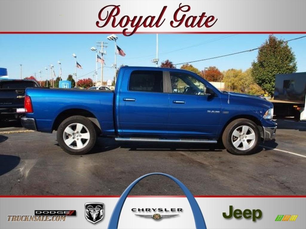 2010 dodge ram 1500 big horn crew cab in deep water blue for Royal chrysler motors inc