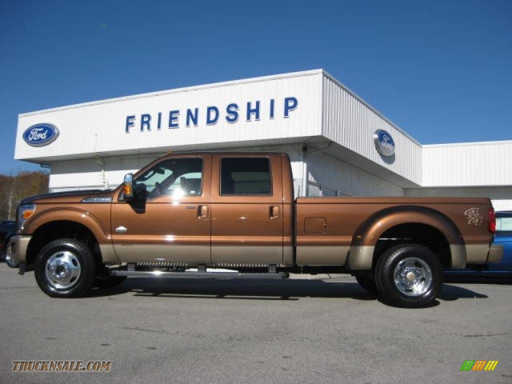Golden Bronze Metallic / Chaparral Leather Ford F350 Super Duty King ...