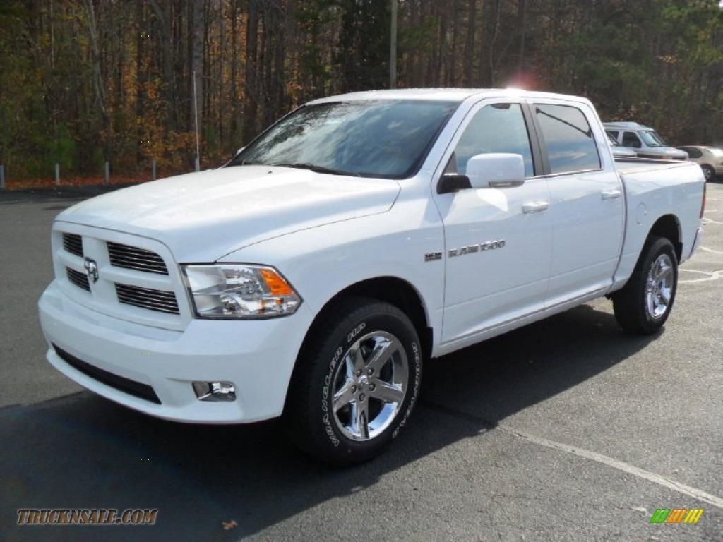 2012 Dodge Ram 1500 Sport Crew Cab 4x4 In Bright White