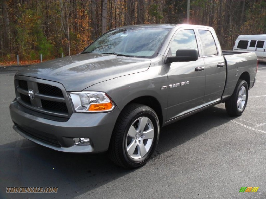 2012 dodge ram 1500 express quad cab in mineral gray metallic 157750. Black Bedroom Furniture Sets. Home Design Ideas