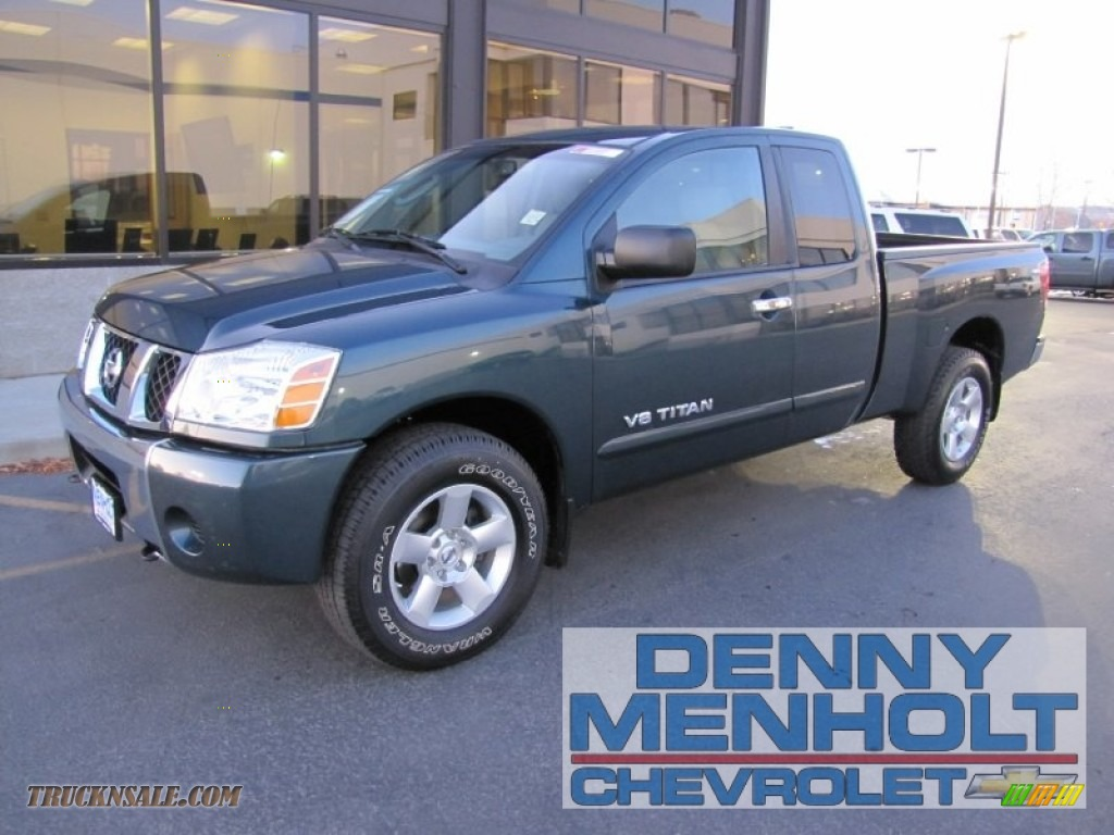 2018 Nissan Frontier King Cab >> 2007 Nissan Titan SE King Cab 4x4 in Deep Water Blue/Green ...