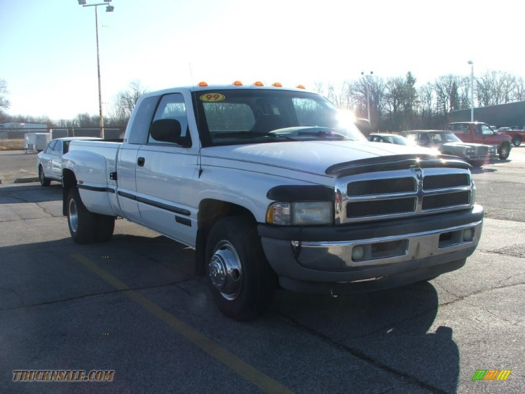 1999 dodge ram 3500 st extended cab dually in bright white photo 14 526898 truck n 39 sale. Black Bedroom Furniture Sets. Home Design Ideas
