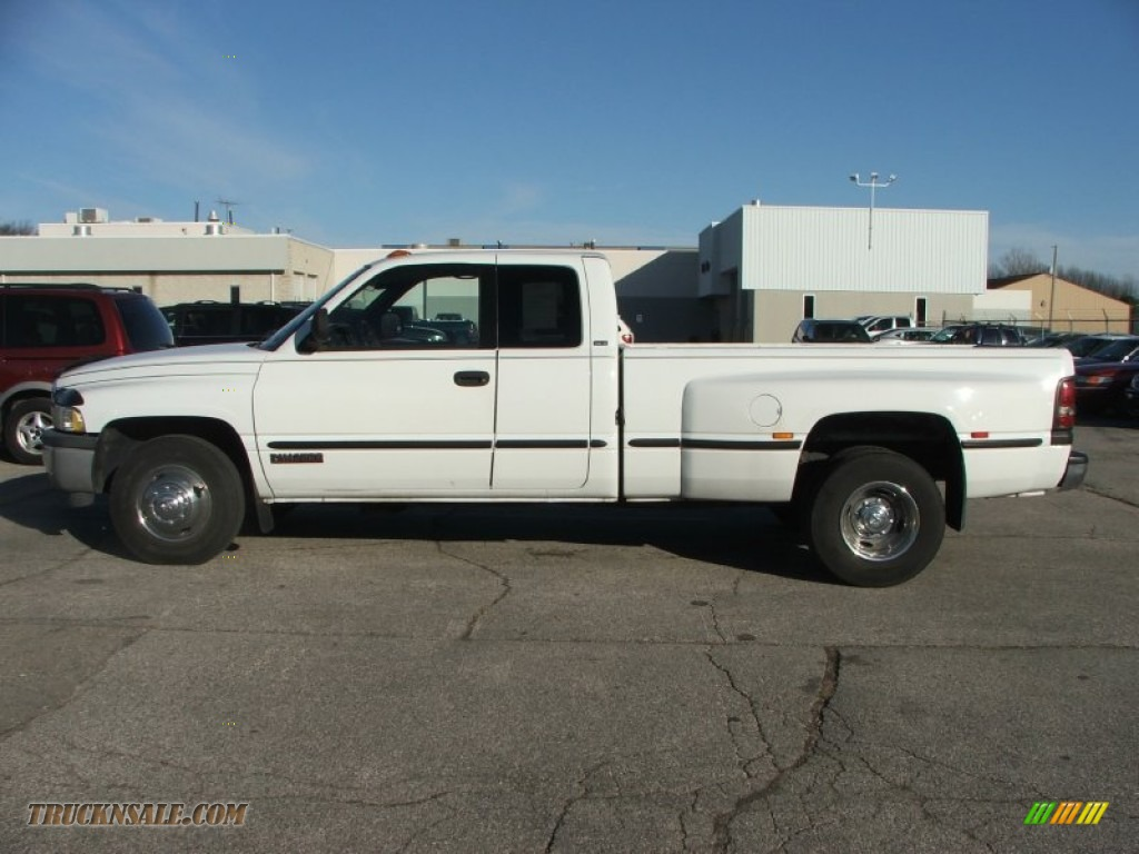 1999 dodge ram 3500 st extended cab dually in bright white. Black Bedroom Furniture Sets. Home Design Ideas