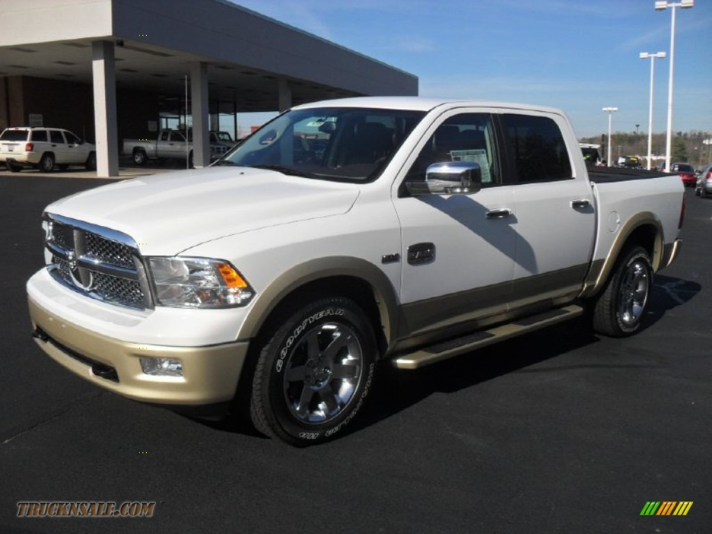 2012 dodge ram 1500 laramie longhorn crew cab 4x4 in bright white 174665 truck n 39 sale. Black Bedroom Furniture Sets. Home Design Ideas
