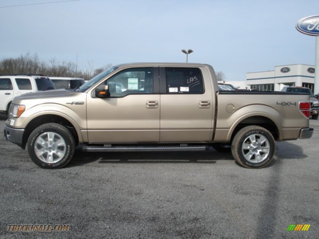 2012 ford f150 lariat supercrew 4x4 in pale adobe metallic photo 5 a11062 truck n 39 sale. Black Bedroom Furniture Sets. Home Design Ideas