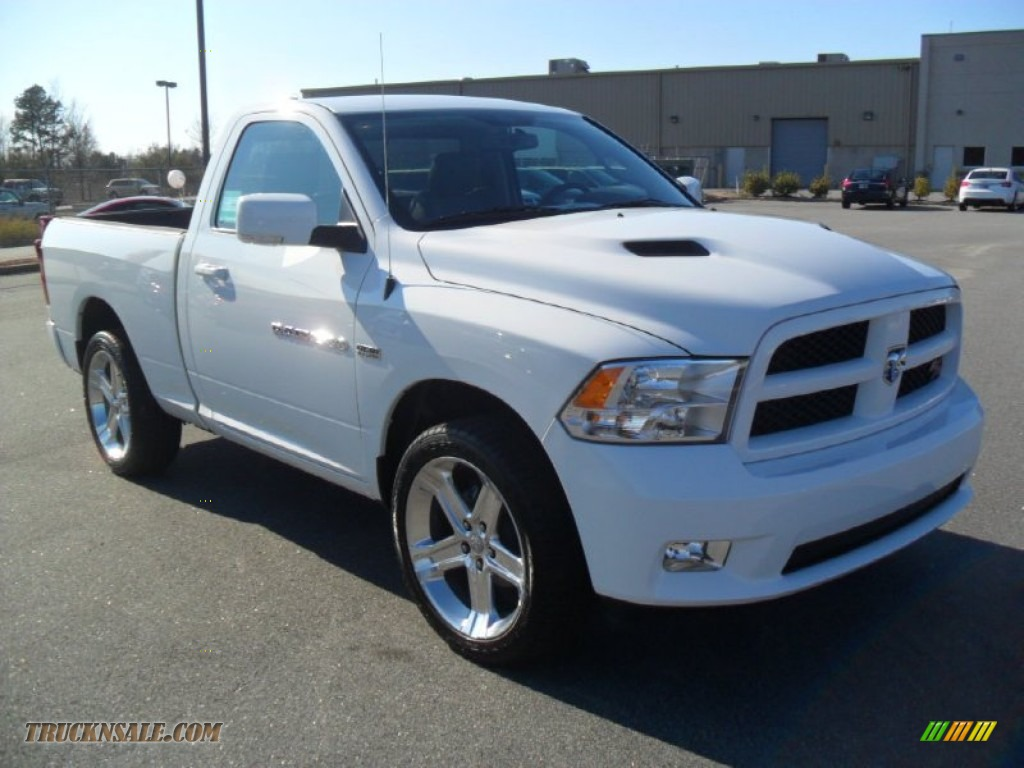 2012 dodge ram 1500 sport r t regular cab in bright white photo 5 145788 truck n 39 sale. Black Bedroom Furniture Sets. Home Design Ideas