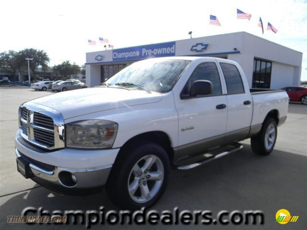 2008 dodge ram 1500 lone star edition quad cab in bright for Steve white motors inc