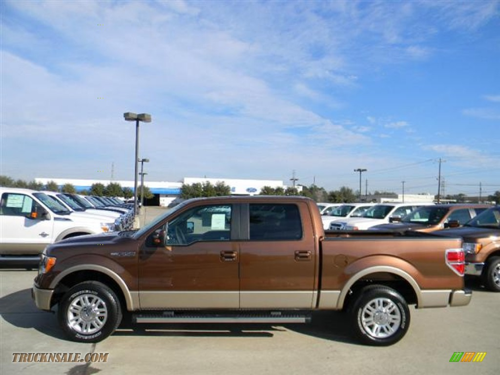 2012 ford f150 lariat supercrew in golden bronze metallic photo 8 a22152 truck n 39 sale. Black Bedroom Furniture Sets. Home Design Ideas