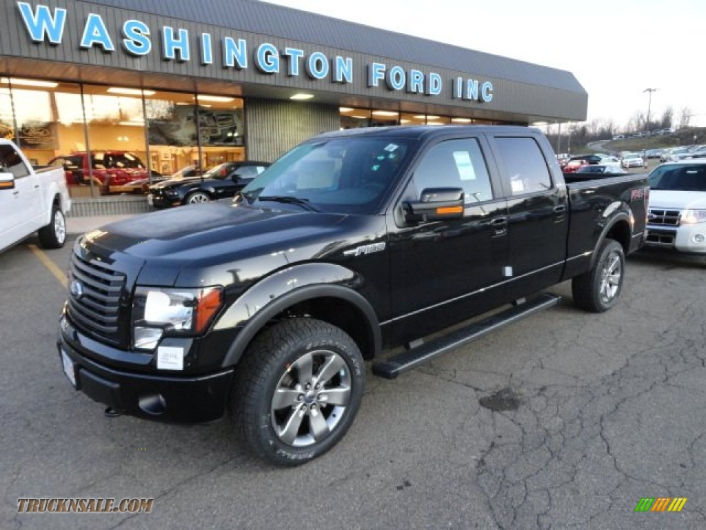 2012 ford f 150 fx4 supercab black for sale autos post. Black Bedroom Furniture Sets. Home Design Ideas
