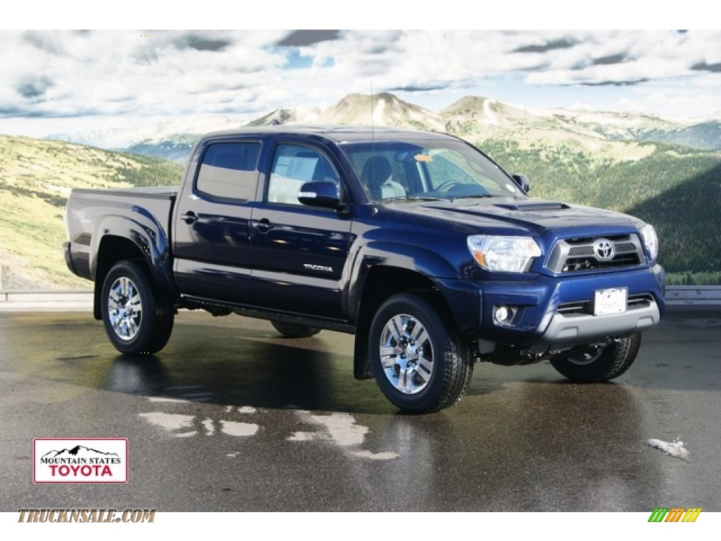 2012 toyota tacoma v6 trd sport double cab 4x4 in nautical blue metallic 087096 truck n 39 sale. Black Bedroom Furniture Sets. Home Design Ideas