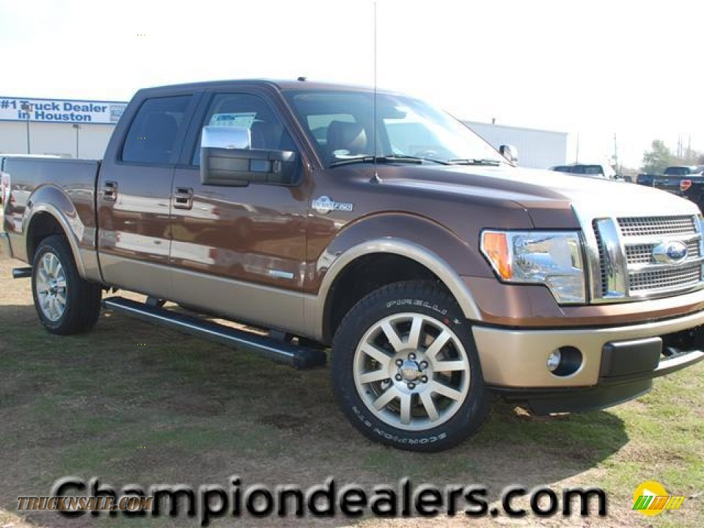 2012 Ford F150 King Ranch Supercrew In Golden Bronze