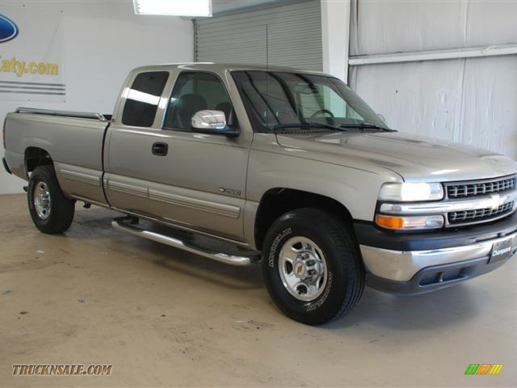 2000 chevrolet silverado 2500 ls extended cab in light pewter metallic photo 3 180923 truck. Black Bedroom Furniture Sets. Home Design Ideas