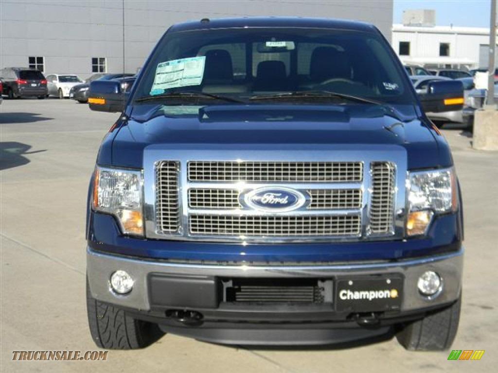 2011 Ford F150 Lariat Supercrew 4x4 In Dark Blue Pearl