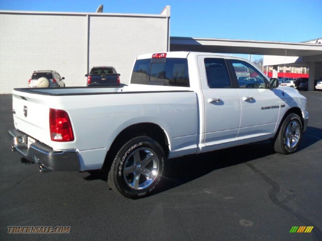 2012 dodge ram 1500 big horn quad cab in bright white photo 6 182236 truck n 39 sale. Black Bedroom Furniture Sets. Home Design Ideas