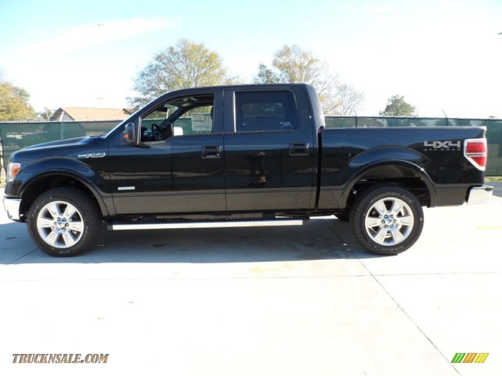 2012 ford f150 lariat supercrew 4x4 in tuxedo black metallic photo 6 a48087 truck n 39 sale. Black Bedroom Furniture Sets. Home Design Ideas