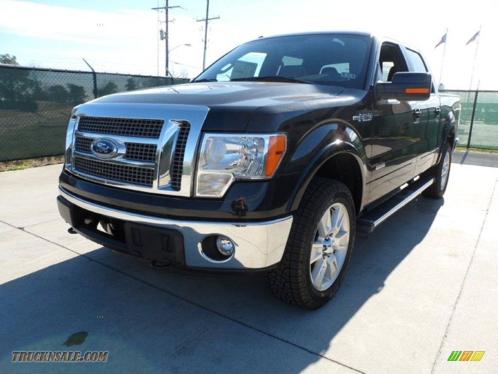2012 ford f150 lariat supercrew 4x4 in tuxedo black metallic photo 7 a48087 truck n 39 sale. Black Bedroom Furniture Sets. Home Design Ideas