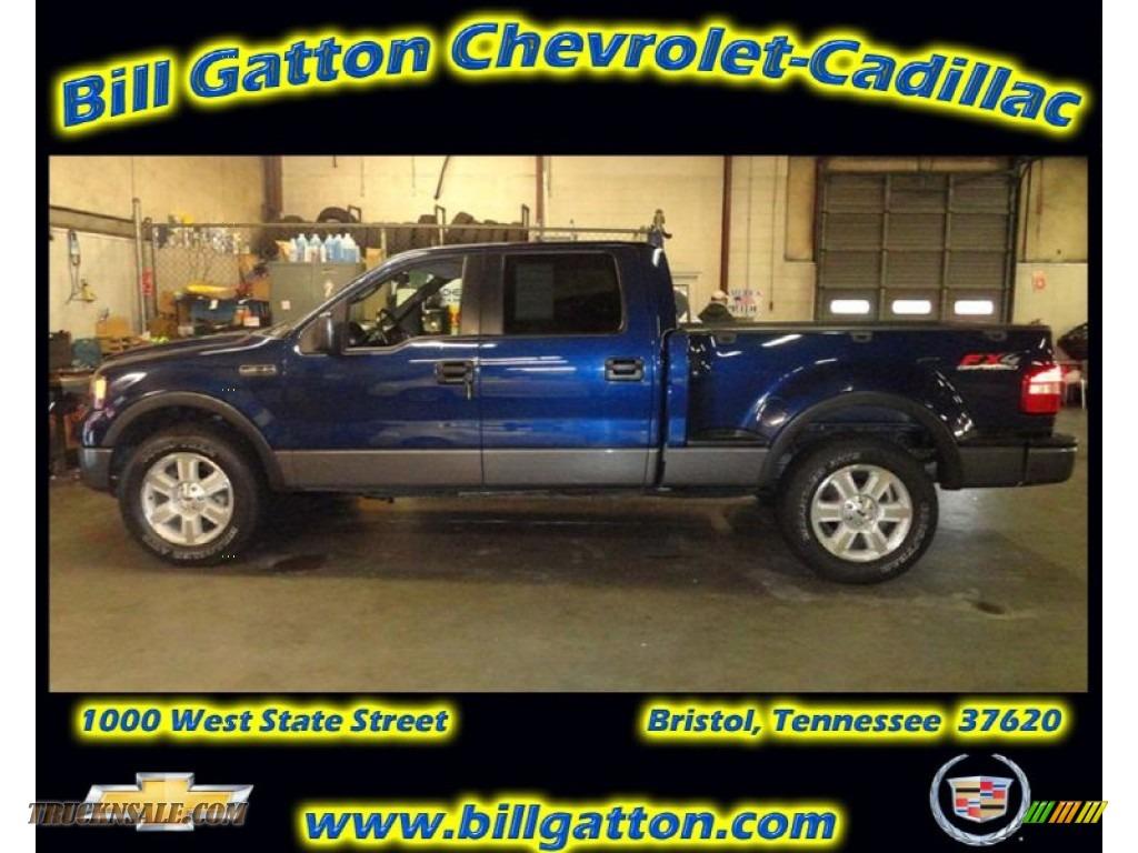 2008 ford f150 fx4 supercrew 4x4 in dark blue pearl metallic c73946 truck n 39 sale. Black Bedroom Furniture Sets. Home Design Ideas