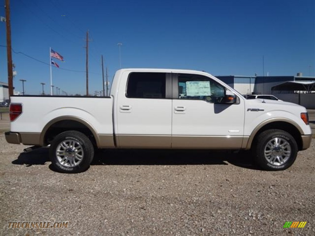 2012 ford f150 lariat supercrew in oxford white photo 8 a40502 truck n 39 sale. Black Bedroom Furniture Sets. Home Design Ideas