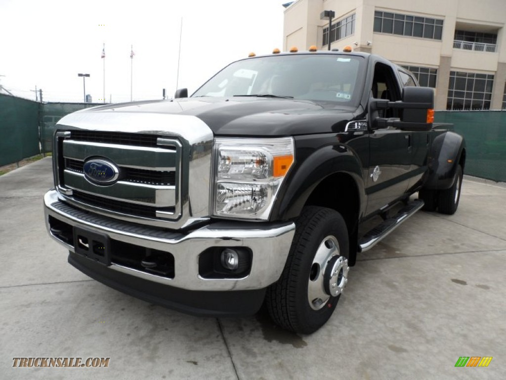 2012 ford f350 super duty lariat crew cab 4x4 dually in tuxedo black metallic photo 7 b15954. Black Bedroom Furniture Sets. Home Design Ideas