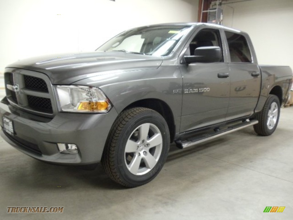 2012 dodge ram 1500 express crew cab 4x4 in mineral gray metallic. Cars Review. Best American Auto & Cars Review