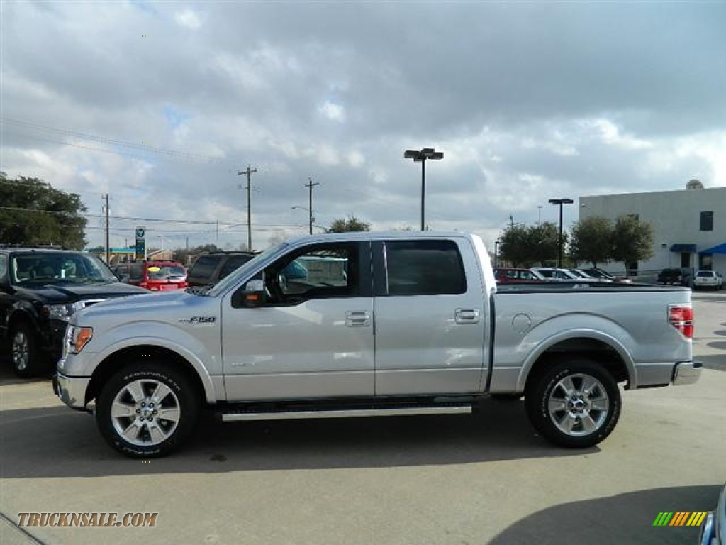 2012 ford f150 lariat supercrew in ingot silver metallic photo 8 d22232 truck n 39 sale. Black Bedroom Furniture Sets. Home Design Ideas