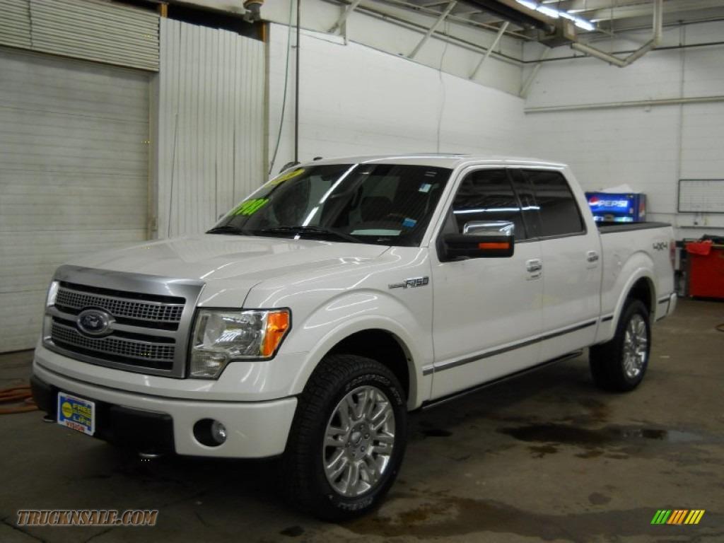 2010 Ford F150 Platinum Supercrew 4x4 In White Platinum