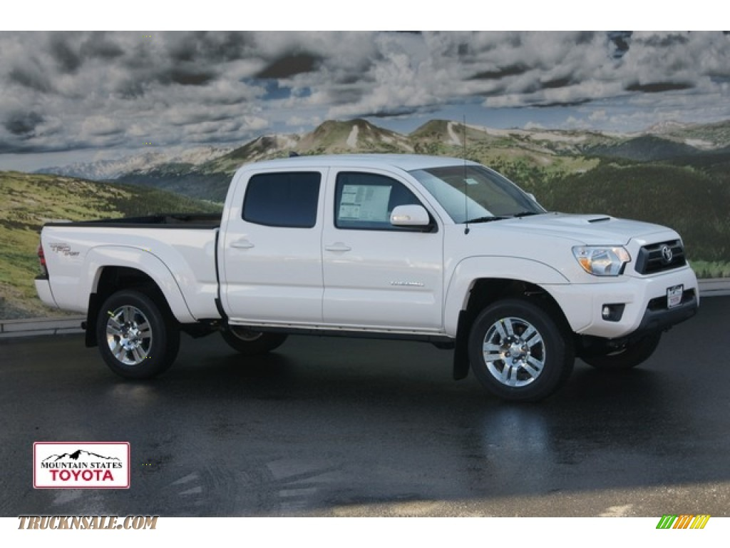 2012 toyota tacoma v6 trd sport double cab 4x4 in super white 042252 truck n 39 sale. Black Bedroom Furniture Sets. Home Design Ideas