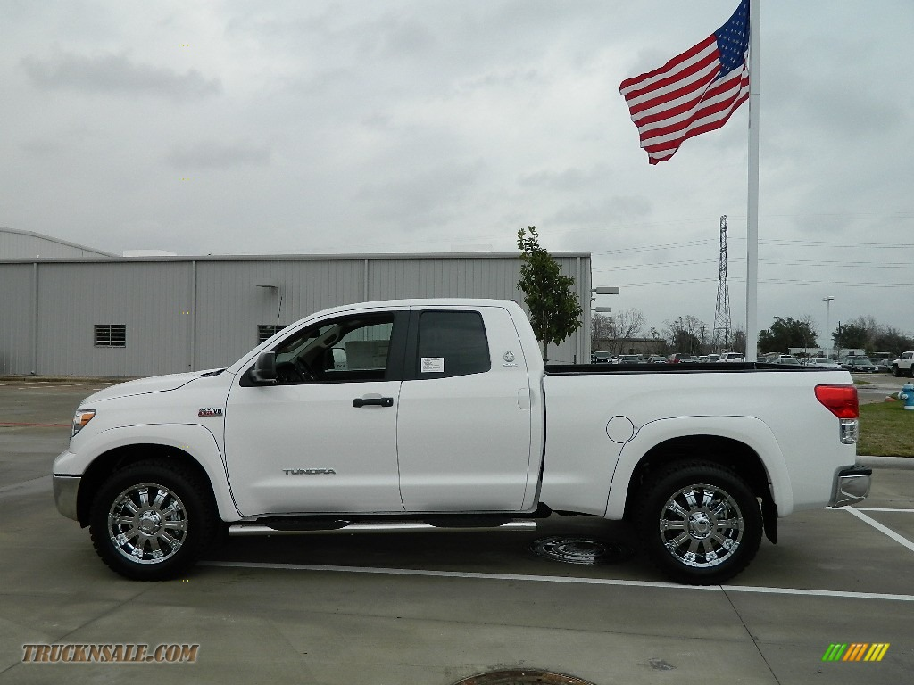 2012 toyota tundra texas edition double cab 4x4 in super white photo 8 230634 truck n 39 sale. Black Bedroom Furniture Sets. Home Design Ideas