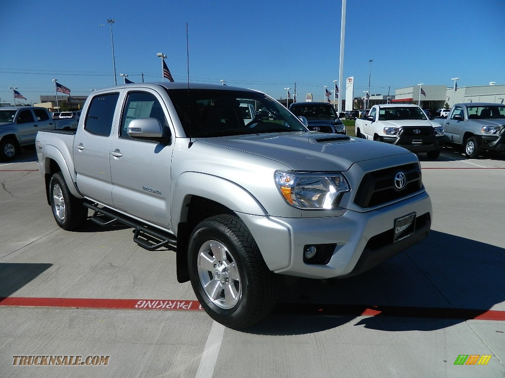 2012 Toyota Tacoma V6 Trd Sport Double Cab 4x4 In Silver