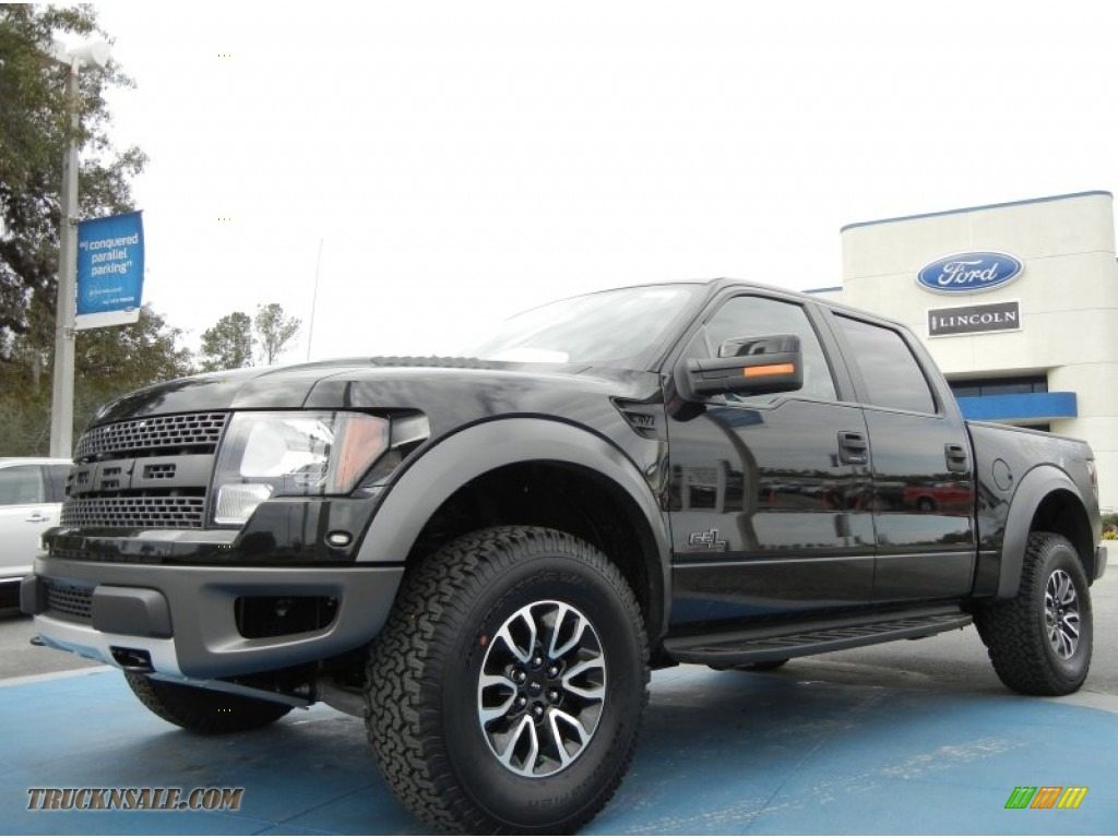 2012 ford f150 svt raptor supercrew 4x4 in tuxedo black metallic photo 10 a66766 truck n 39 sale. Black Bedroom Furniture Sets. Home Design Ideas