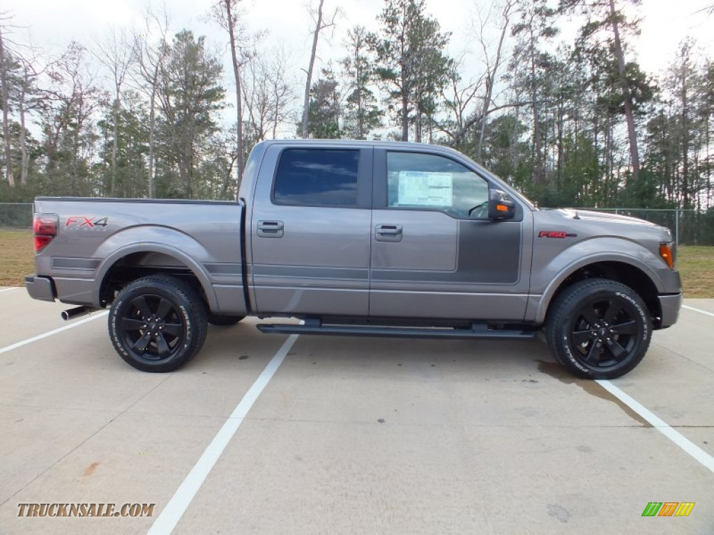 2012 ford f150 fx4 supercrew 4x4 in sterling gray metallic photo 2 a56691 truck n 39 sale. Black Bedroom Furniture Sets. Home Design Ideas