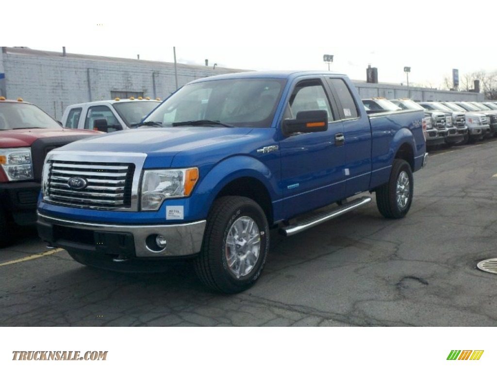 2012 ford f150 xlt supercab 4x4 in blue flame metallic a79748 truck n 39 sale