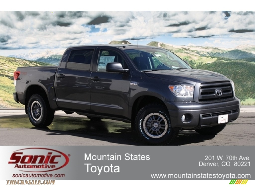 2012 toyota tundra trd rock warrior crewmax 4x4 in magnetic gray metallic 237798 truck n 39 sale. Black Bedroom Furniture Sets. Home Design Ideas