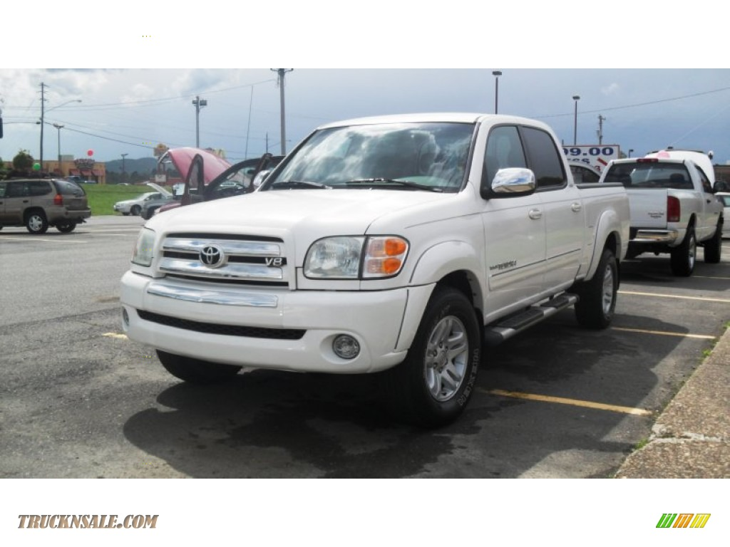 2004 toyota tundra sr5 double cab in natural white. Black Bedroom Furniture Sets. Home Design Ideas