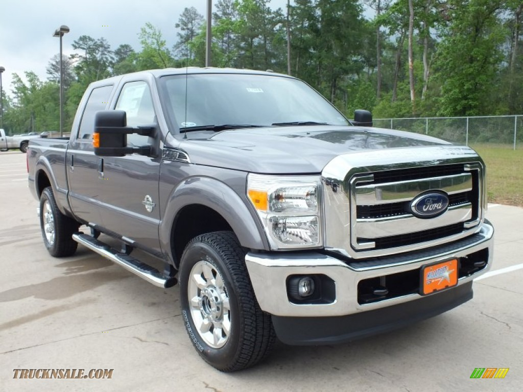 2012 ford f250 super duty lariat crew cab 4x4 in sterling grey metallic b66264 truck n 39 sale. Black Bedroom Furniture Sets. Home Design Ideas
