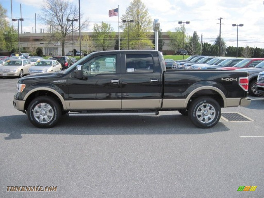 2012 ford f150 lariat supercrew 4x4 in tuxedo black metallic b31932 truck n 39 sale. Black Bedroom Furniture Sets. Home Design Ideas