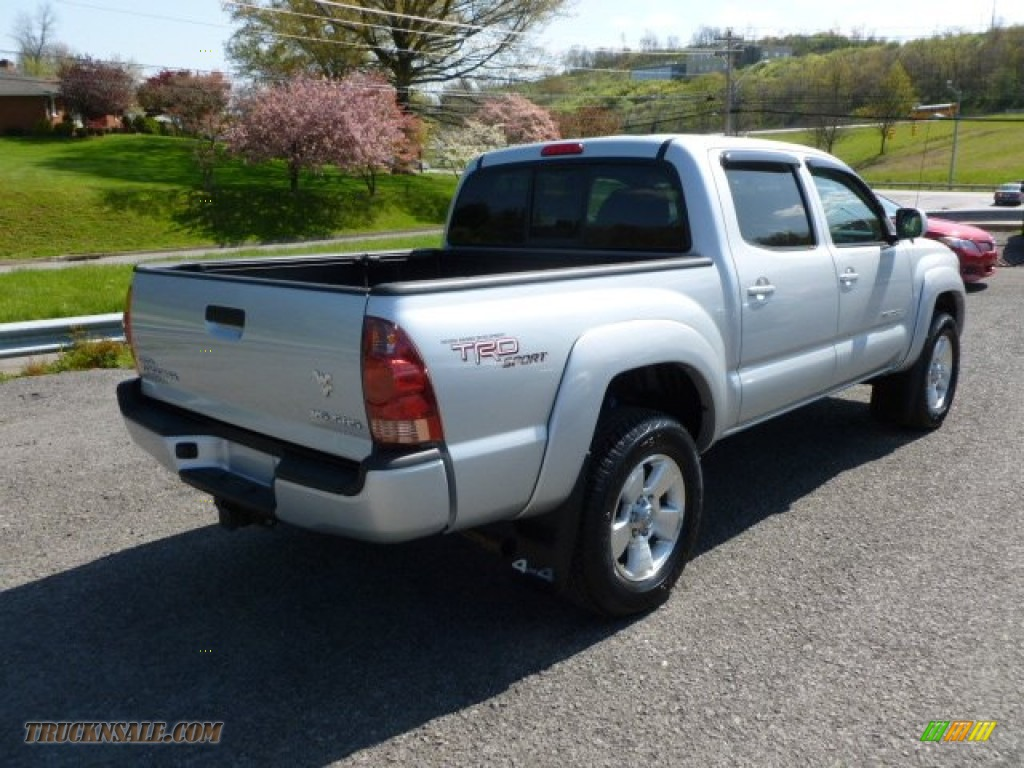 2008 toyota tacoma v6 trd sport double cab 4x4 in silver streak mica photo 7 572445 truck n. Black Bedroom Furniture Sets. Home Design Ideas