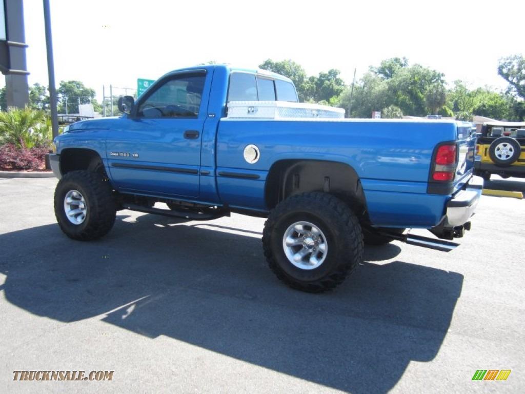 1998 Dodge Ram 1500 St Regular Cab 4x4 In Intense Blue