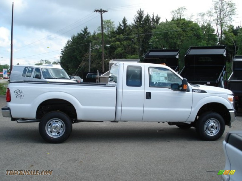 2012 ford f350 super duty xl supercab 4x4 in oxford white b95324 truck n 39 sale. Black Bedroom Furniture Sets. Home Design Ideas