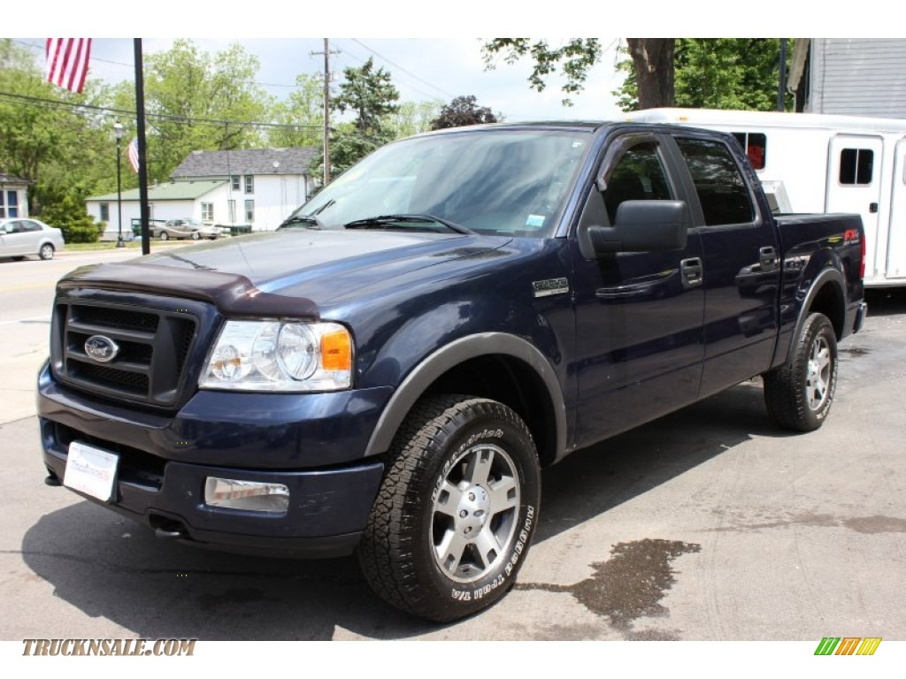 2005 Ford F150 Fx4 Supercrew 4x4 In True Blue Metallic