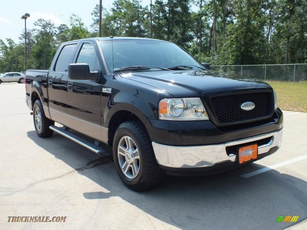 2006 ford f150 xlt supercrew in black c38603 truck n 39 sale. Black Bedroom Furniture Sets. Home Design Ideas