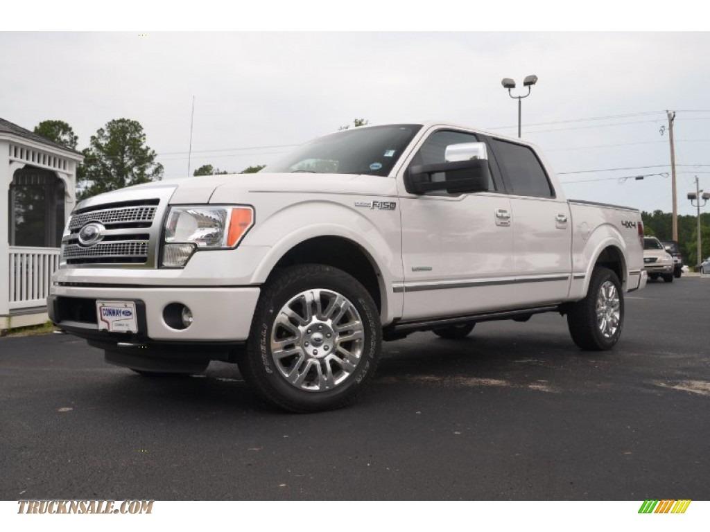 2011 ford f150 platinum supercrew 4x4 in white platinum metallic tri coat a82550 truck n 39 sale. Black Bedroom Furniture Sets. Home Design Ideas