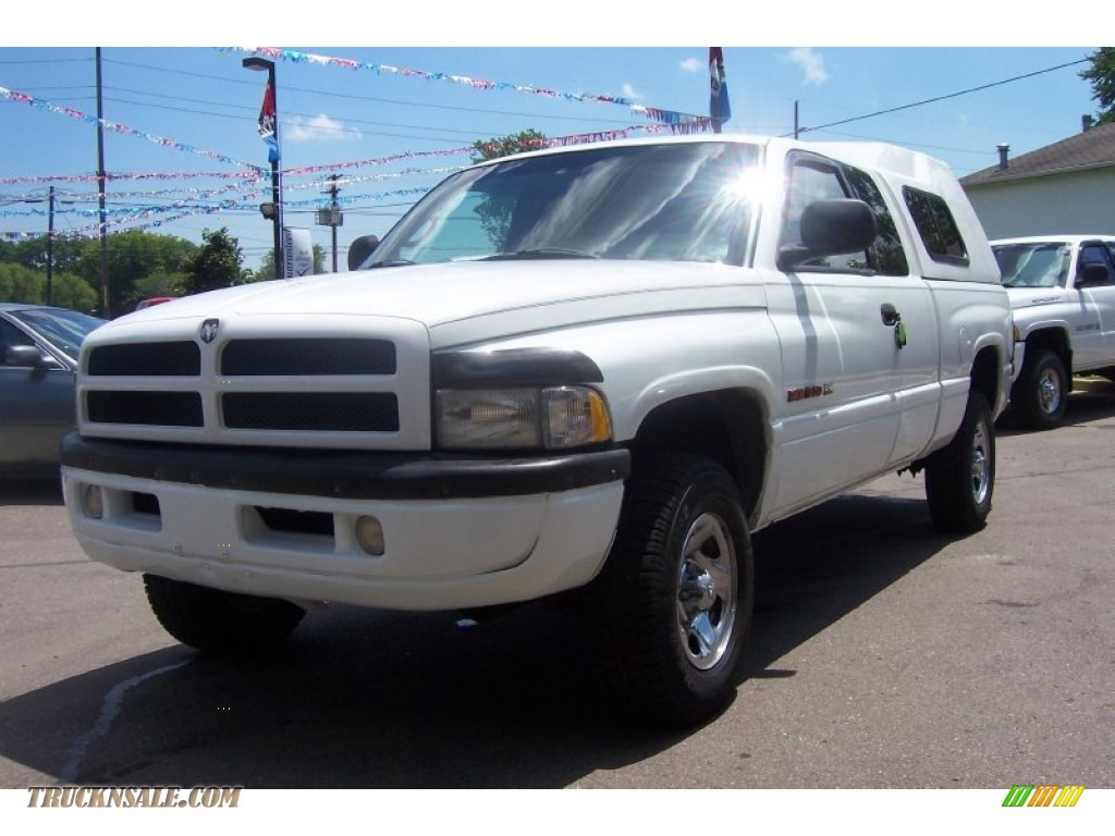 1998 dodge ram 1500 sport extended cab 4x4 in bright white for Steve white motors inc