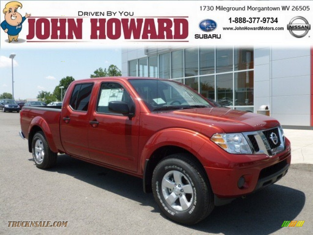 2012 nissan frontier sv crew cab 4x4 in lava red photo 18 for Mileground motors in morgantown wv