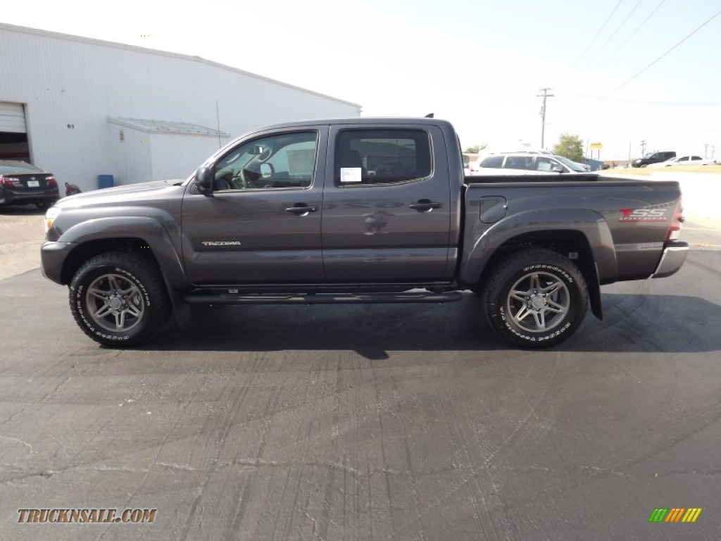 2012 toyota tacoma v6 tss prerunner double cab in magnetic gray mica photo 4 024638 truck n. Black Bedroom Furniture Sets. Home Design Ideas
