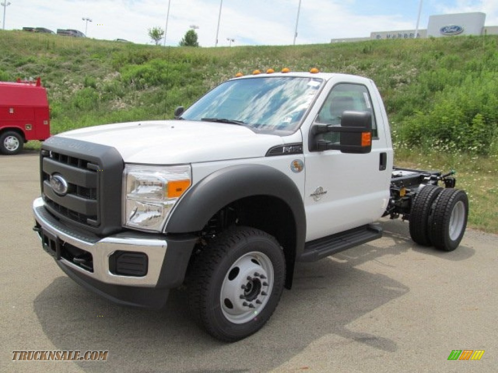2012 Ford F450 Super Duty Xl Regular Cab Chassis 4x4 In Oxford White