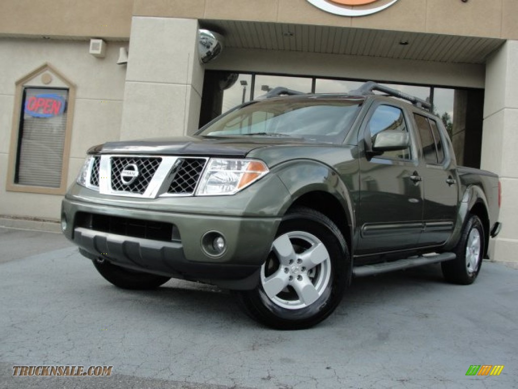 2005 Nissan Frontier Le Crew Cab In Canteen Metallic Green