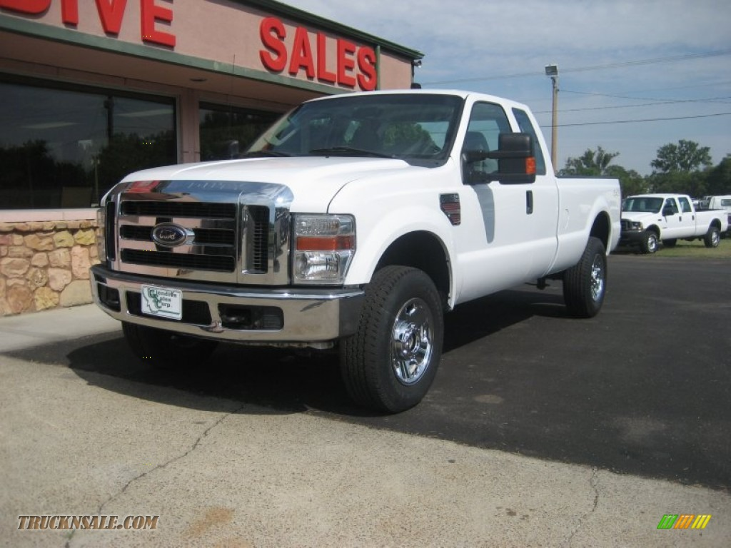2008 ford f350 super duty xlt supercab 4x4 in oxford white d69835 truck n 39 sale. Black Bedroom Furniture Sets. Home Design Ideas